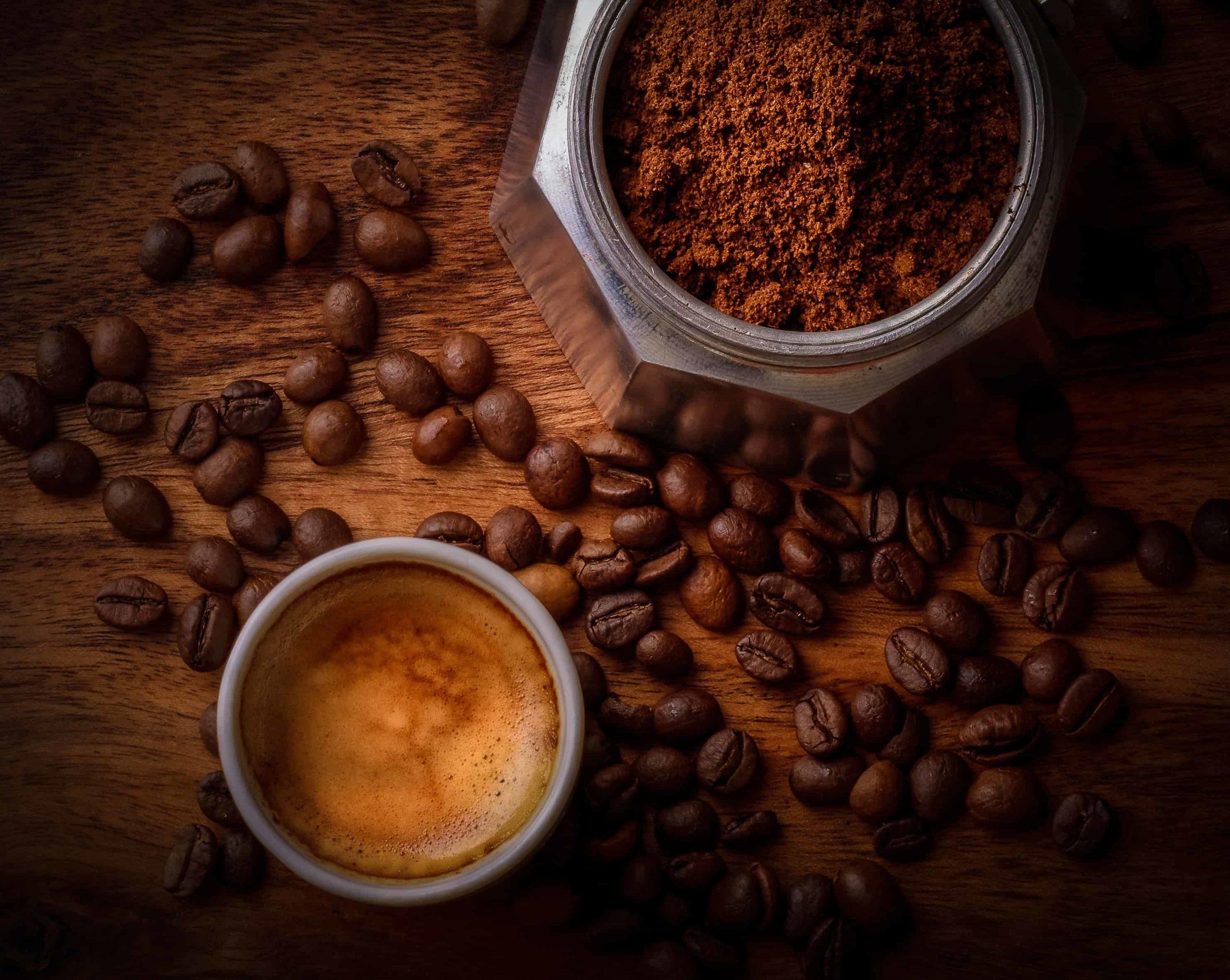 mascarilla de posos de café